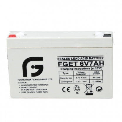 6V 7AH Regulated Sealed Lead Acid battery