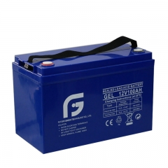 Batterie au plomb acide GEL 12V100AH