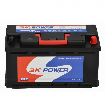 12V100AH Dry Cell Car Battery