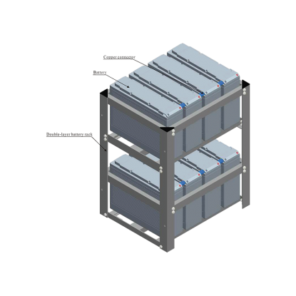 FRONT TERMINAL SERIES BATTERY RACKS
