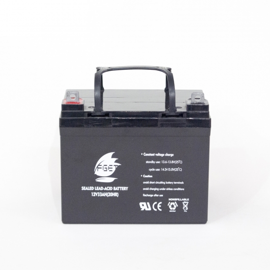 12V 33ah Lead Acid Storage Battery